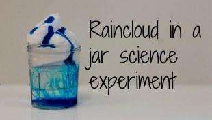 rain cloud in a jar